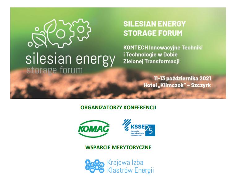 KIKE współorganizatorem Silesian Energy Storage Forum